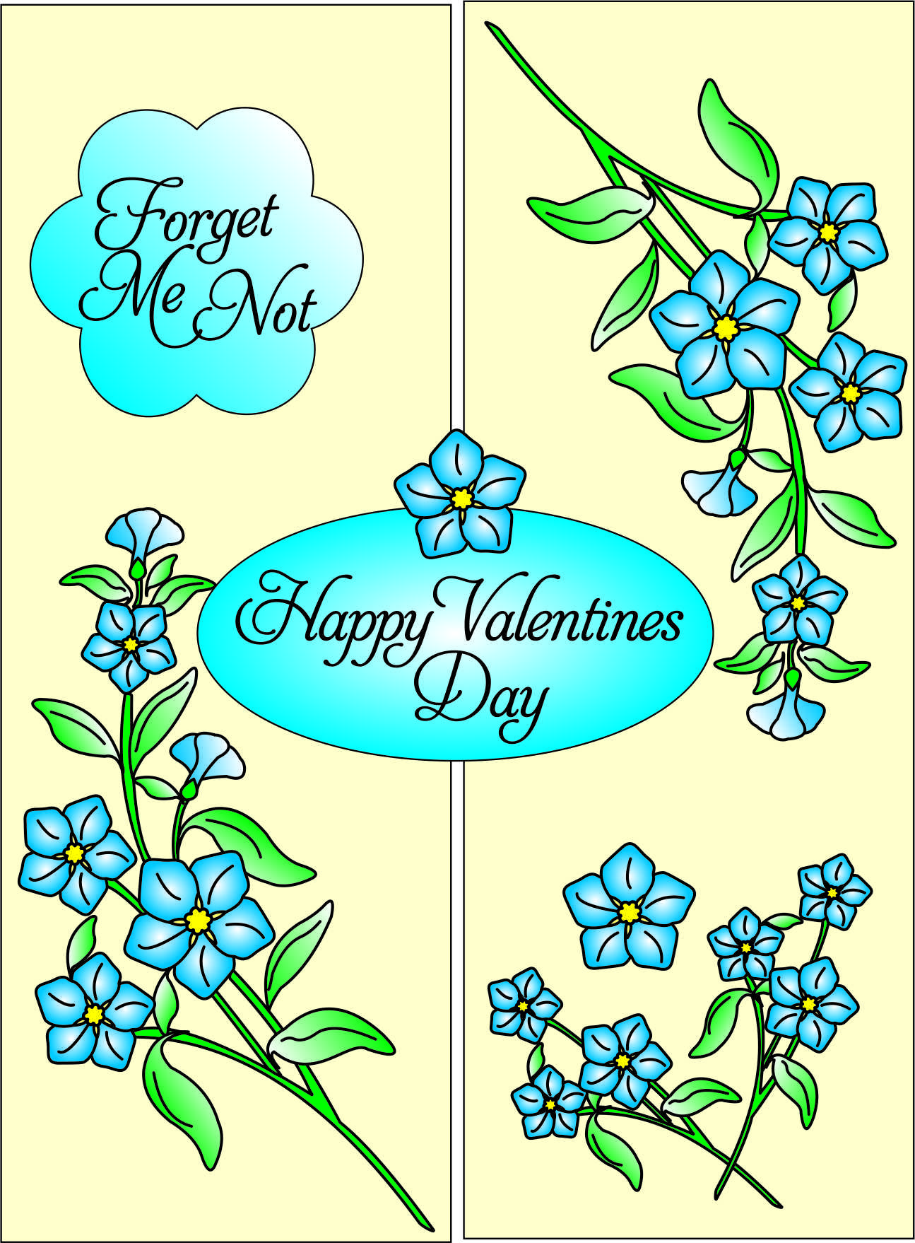 FORGET ME NOT VALENTINES 03